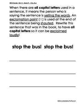 BOB Books Set Two Book 9 - Go, Bus