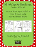 Sight Word Color Pictures Christmas Holiday Set of 3