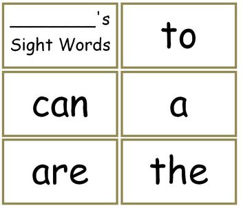 Sight Words Set Flash Cards BOB Books Collection