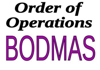 BODMAS poster