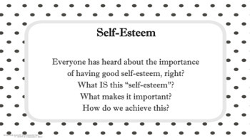 BODY IMAGE, SELF-ESTEEM, SELF-TALK, DIVERSITY Lesson w 4 video Character Ed PBIS