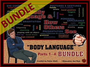 """BODY LANGUAGE BUNDLE """"Body Language PowerPoint Series - How Others See YOU!"""""""