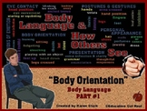 "BODY LANGUAGE PPT - Part 1: ""Body Orientation & How Others See YOU!"""