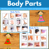 Autism Activity - Body Parts Matching File Folders