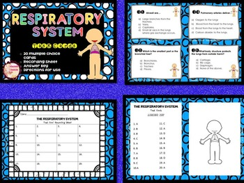 BODY SYSTEMS TASK CARD  BUNDLE