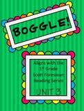 BOGGLE! 1st Grade Scott Foresman Unit 3 Week 4 Adding -ed