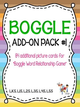 BOGGLE! Add-On Pack #1