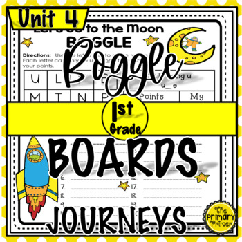 Journeys FIRST Grade BOGGLE:  Unit FOUR