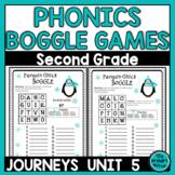 Journeys SECOND Grade BOGGLE:  Unit FIVE