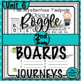 Journeys SECOND Grade BOGGLE:  Unit SIX