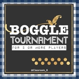 BOGGLE Tournament Set for the Classroom