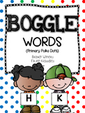 BOGGLE WORDS {Primary Polka Dots}