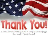 FREE American Memorial Day Poster