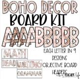 BOHO Board Kit (Objective Board)   Classroom Decor