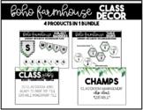 BOHO Farmhouse Classroom Decor BUNDLE!