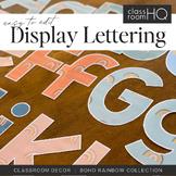 Modern BOHO RAINBOW Lettering Pack