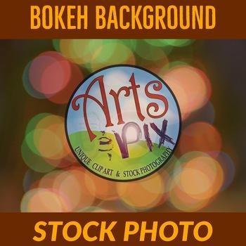 BOKEH - Text Background - Photograph - Lens Bokeh - Stock Photo