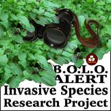 BOLO Alert Invasive Species Research Project