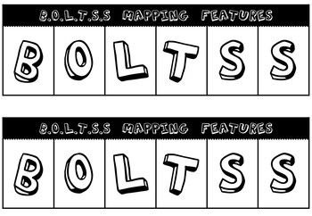 BOLTSS Map features foldable