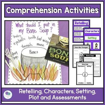 BONE SOUP Halloween Literacy and Math Activities