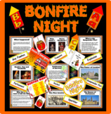 BONFIRE NIGHT, GUY FAWKES- Gunpowder plot fireworks KS1 KS2 HISTORY