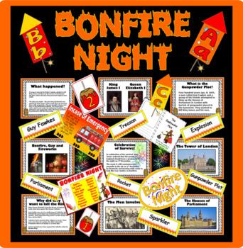 BONFIRE NIGHT, GUY FAWKES- Gunpowder plot fireworks KS1 KS