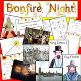 BONFIRE NIGHT thematic unit- GUY FAWKES