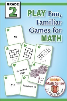 Grade 2 Multi-Match Math Games for Common Core: BONUS BUNDLE
