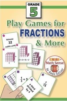 Grade 5 Multi-Match Math Games for Common Core: BONUS BUNDLE