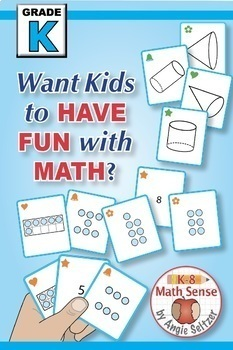 BONUS BUNDLE: Kindergarten Multi-Match Math Games for Common Core