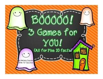 BOO! 3 Games for YOU! {Plus 10}