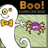 BOO! A Math Freebie