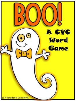 BOO! A Spooky CVC Words Game