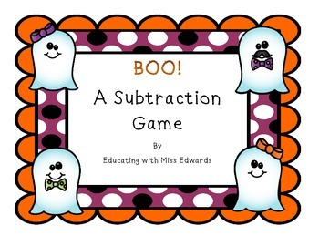 BOO! A Subtraction Game