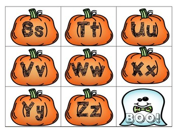 BOO!-ABC Letter Game