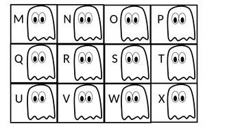 BOO! Alphabet Game