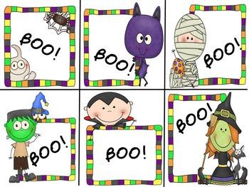 BOO! CVC Word Games