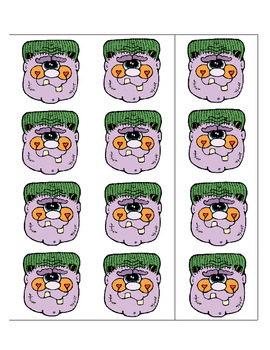 BOO! Dolch Sight Word Game - Primer List