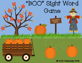 """BOO"" First Grade Sight Word Game"