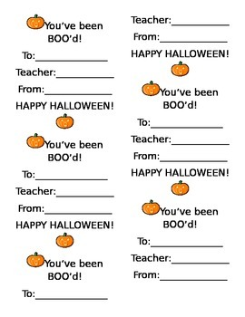 Inventive image in boo grams printable