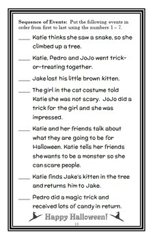 BOO, Katie Woo! (Fran Manushkin) Novel Study / Comprehension Unit