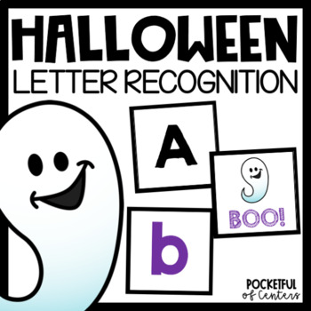 Halloween BOO! Letter Recognition Game