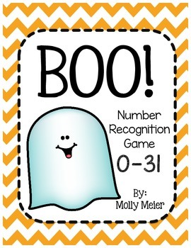 BOO! Number Recognition Game 0-31