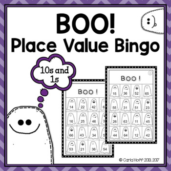 Place Value Bingo - Halloween Fun!