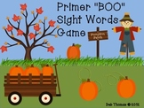 """""""BOO"""" Primer Sight Words Game"""