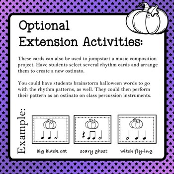 BOO! Rhythm Review Game - Eighth notes, Quarter notes, Half notes