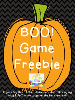 BOO! Snap Word Game