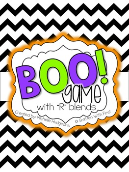 BOO! {an R BLENDS game}