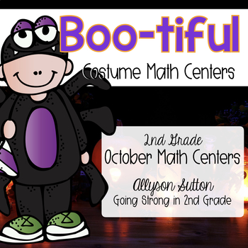 BOO-tiful Math Centers on Parade - October Math Centers 2nd Grade CCSS