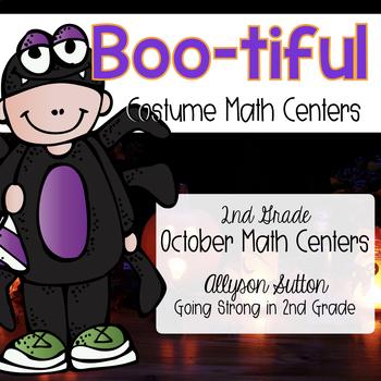 BOO-tiful Math Centers on Parade - October Math Centers 2nd Grade CCSS